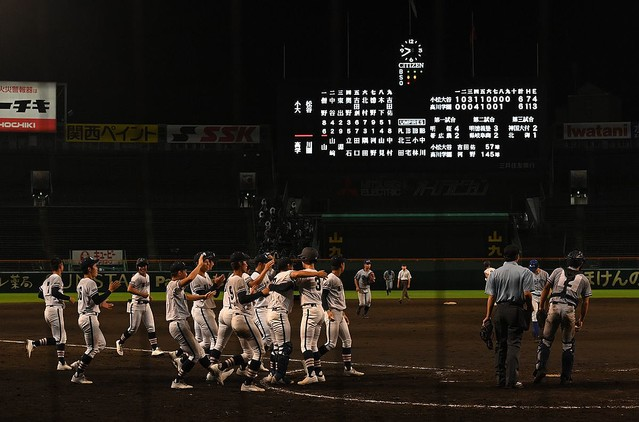 夏の高校野球、試合終了時間が21時40分となり史上最遅に!