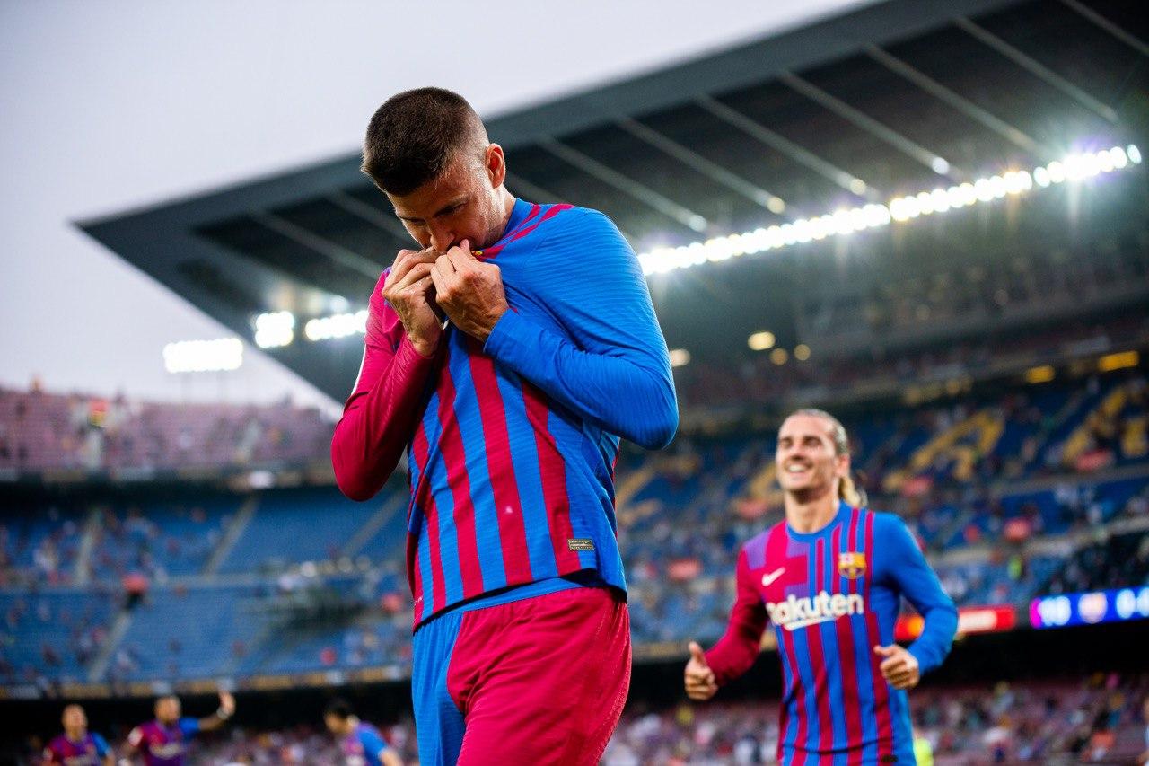 Barcelona vs Real Sociedad 3-2 Liga Española 2021-2022
