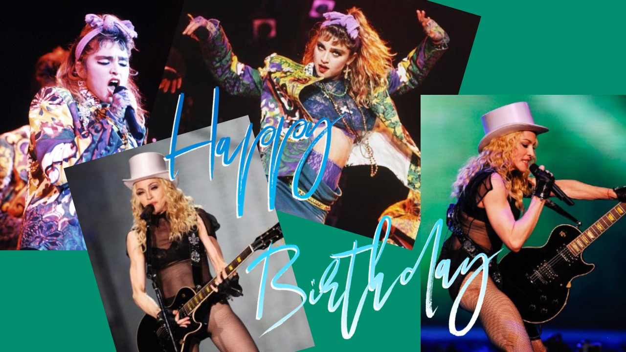 Happy Birthday Madonna (61) August 16th, 1958
