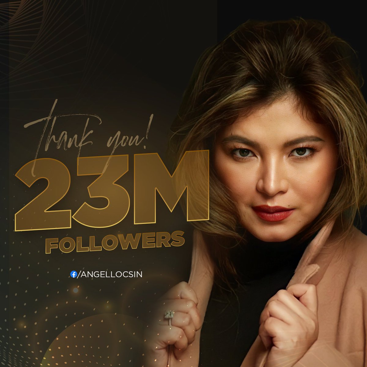 We are now 23 Million strong! Thank you so much everyone ❤️ 🎉   @143redangel  [Team Angel PH] https://t.co/x38rfSEUwg