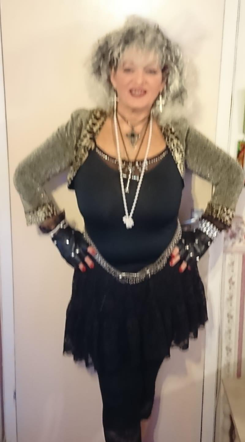 Get into the groove as I dress up as Madonna tho there are so many songs happy birthday Madonna
