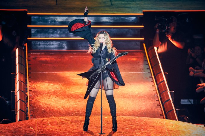 Happy birthday to our favourite Rebel Heart , the original Material Girl\