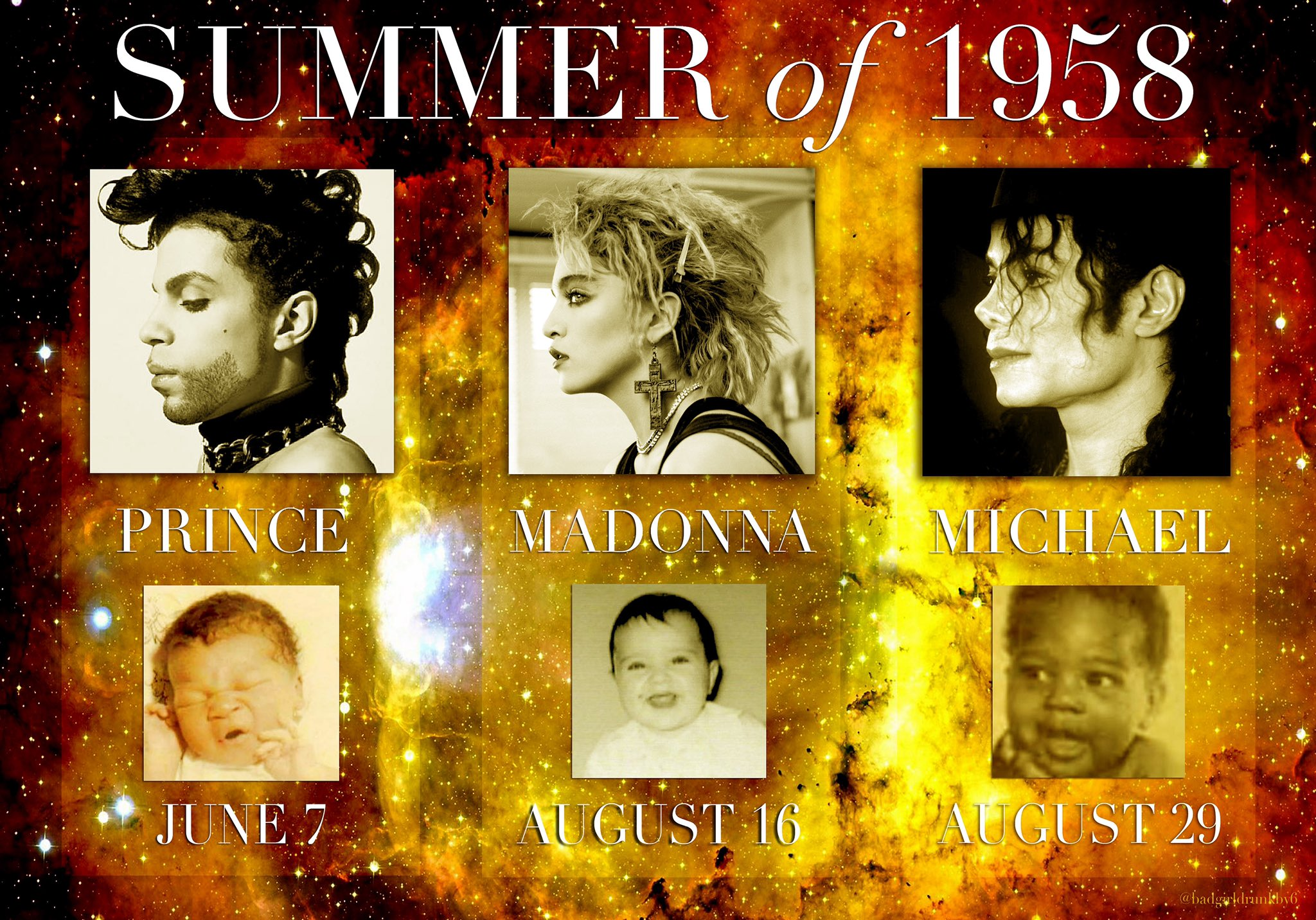 Happy Birthday The summer of 1958 sure was magical!