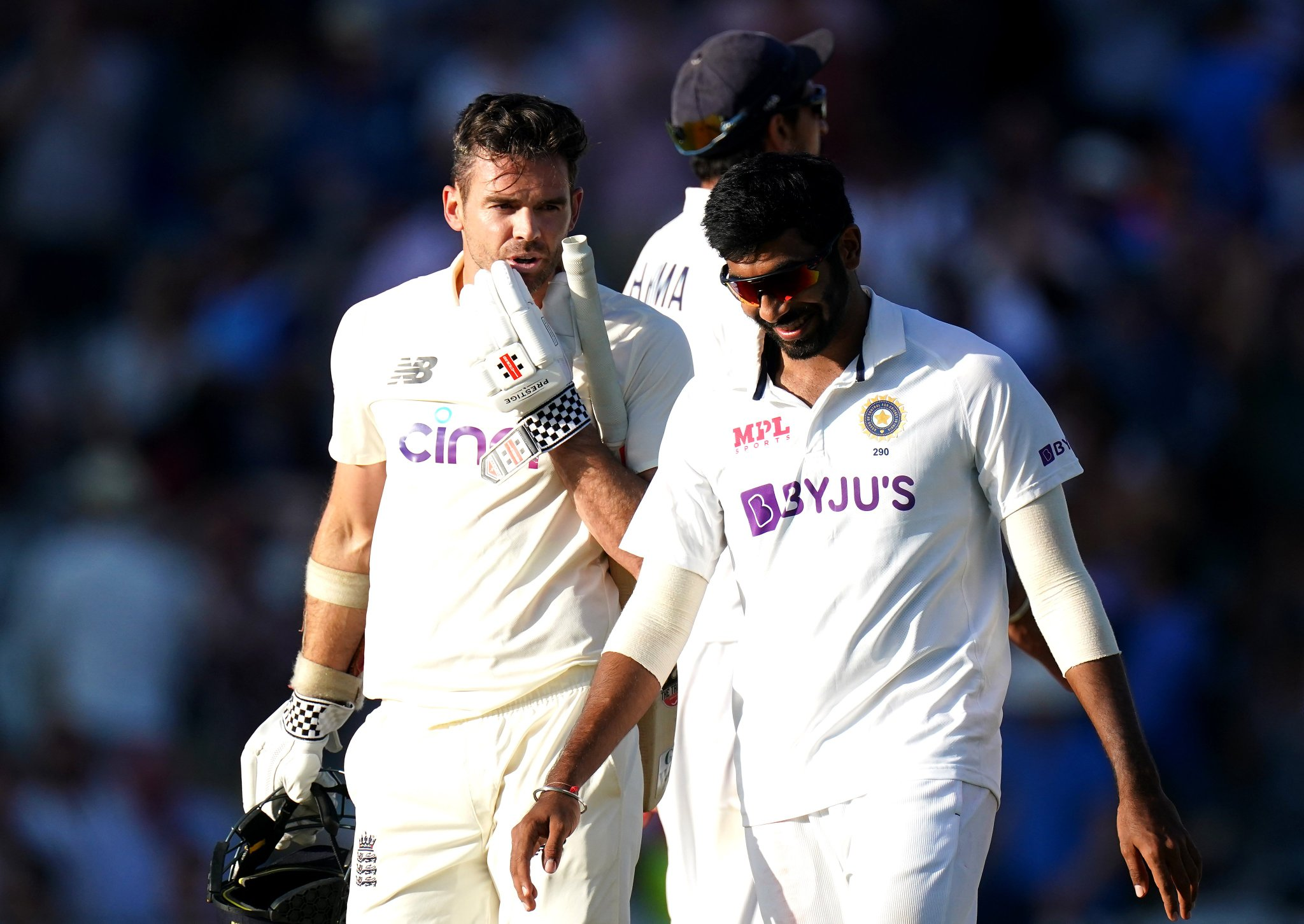 IND vs ENG: Jasprit Bumrah and James Anderson had a heated exchange at Lord's at the end of Day 3