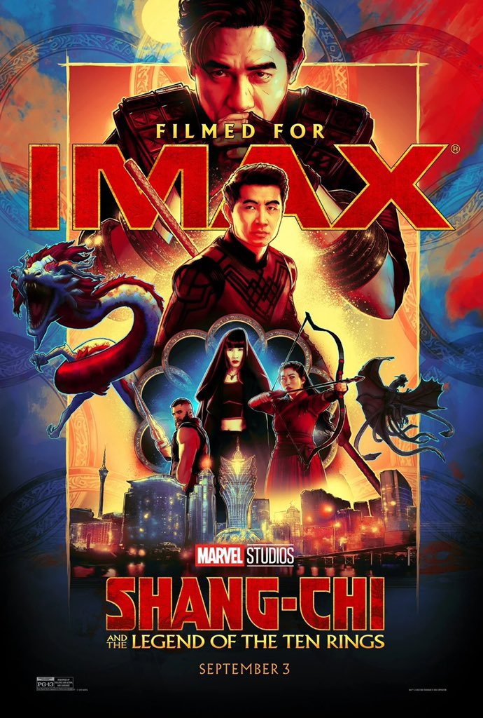 Shang-Chi And The Legend Of The Ten Rings IMAX Poster