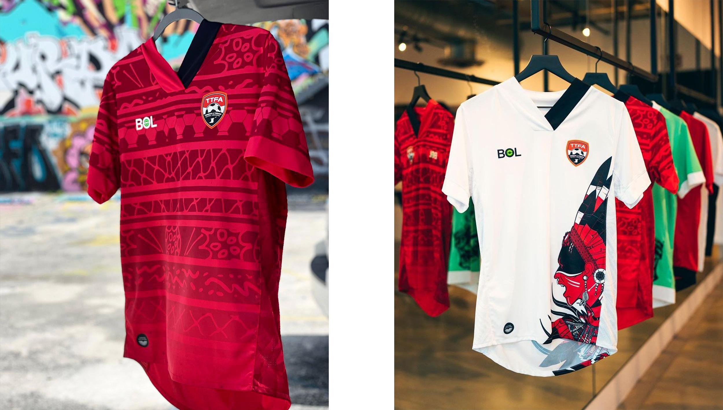 Trinidad and Tobago 2021-22 kits by BOL football