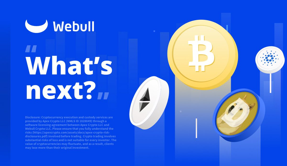 New Cryptocurrency is available soon with #Webull Crypto!