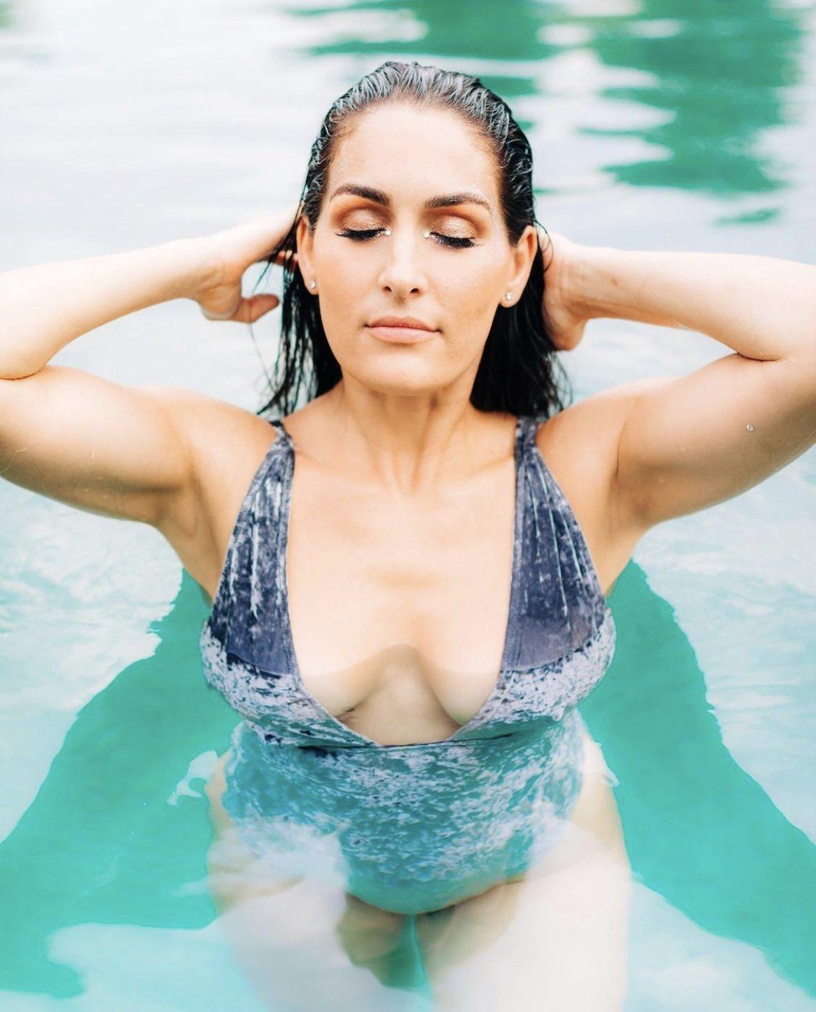 Photos: Nikki Bella Spreads Summer Vibes Ahead Of WWE Summerslam 2021 155