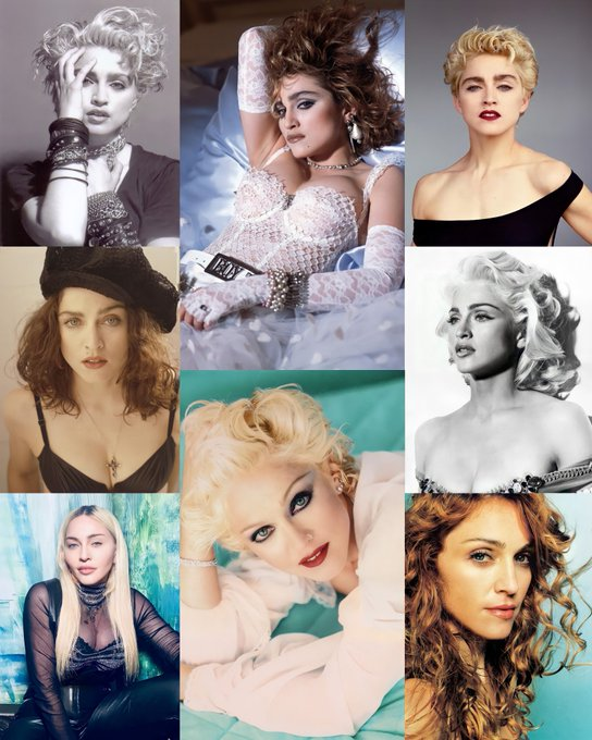 Happy birthday to the iconic, legendary, the one and only indisputable Queen of Pop. Happy Birthday Madonna