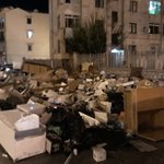 Image for the Tweet beginning: Piazza San Saverio, #Palermo, ieri