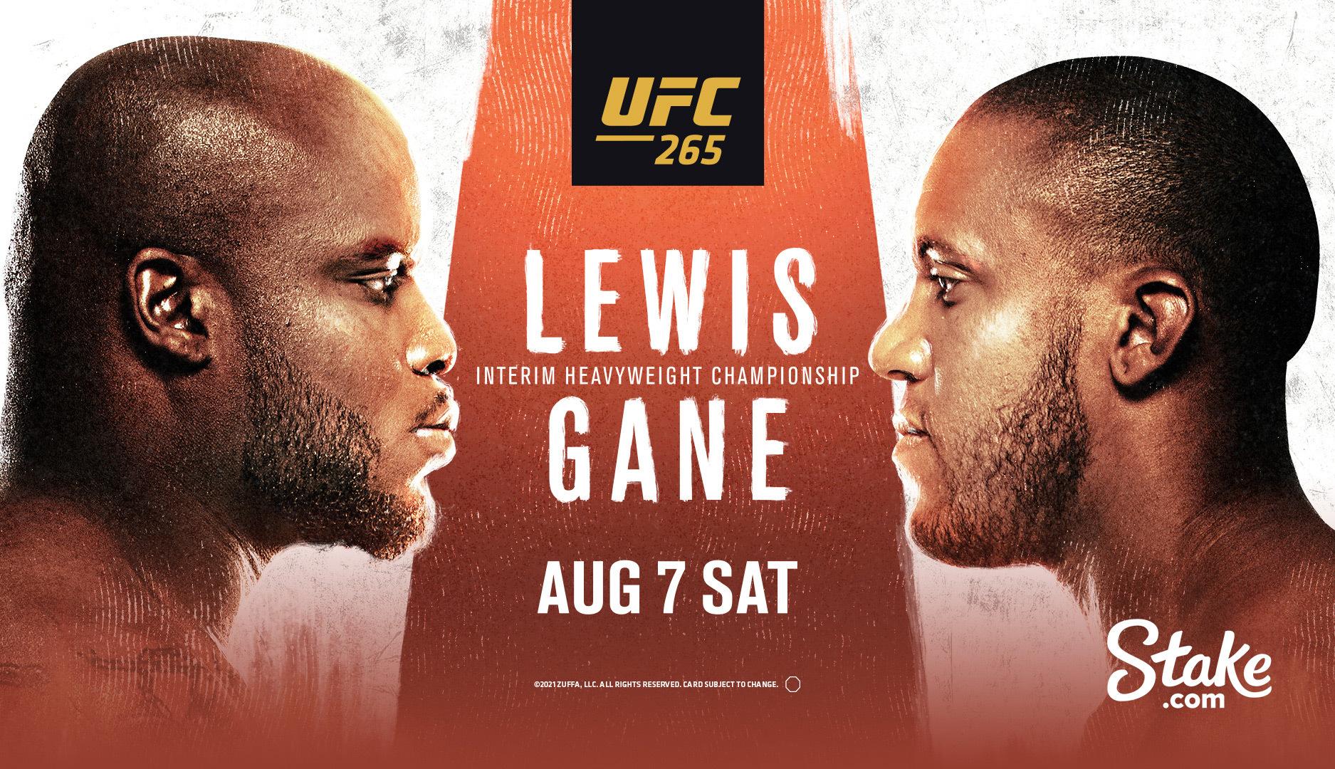 UFC 265 en VIVO