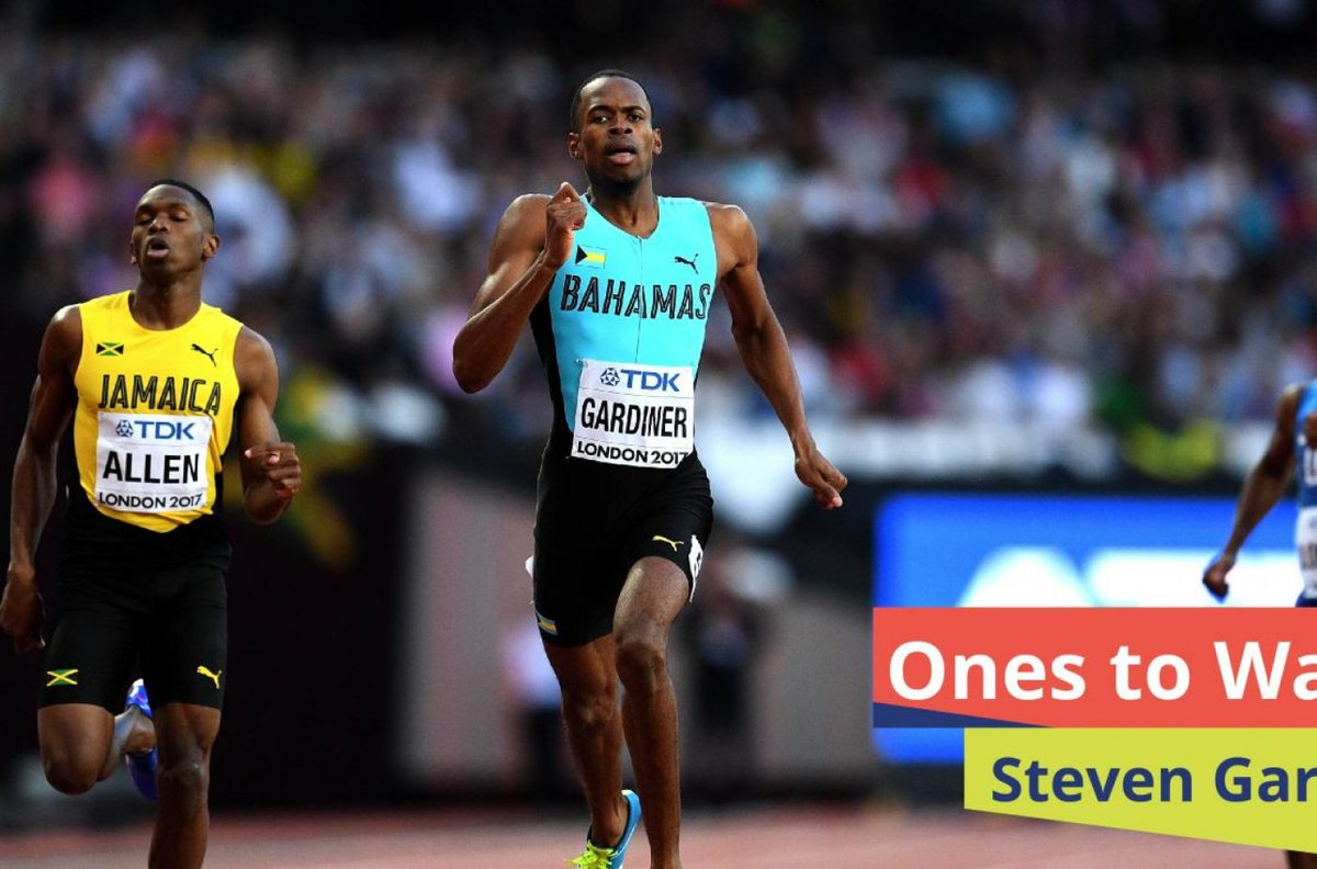 Steven Gardiner was the first athlete to win Olympic gold in Bahamas history