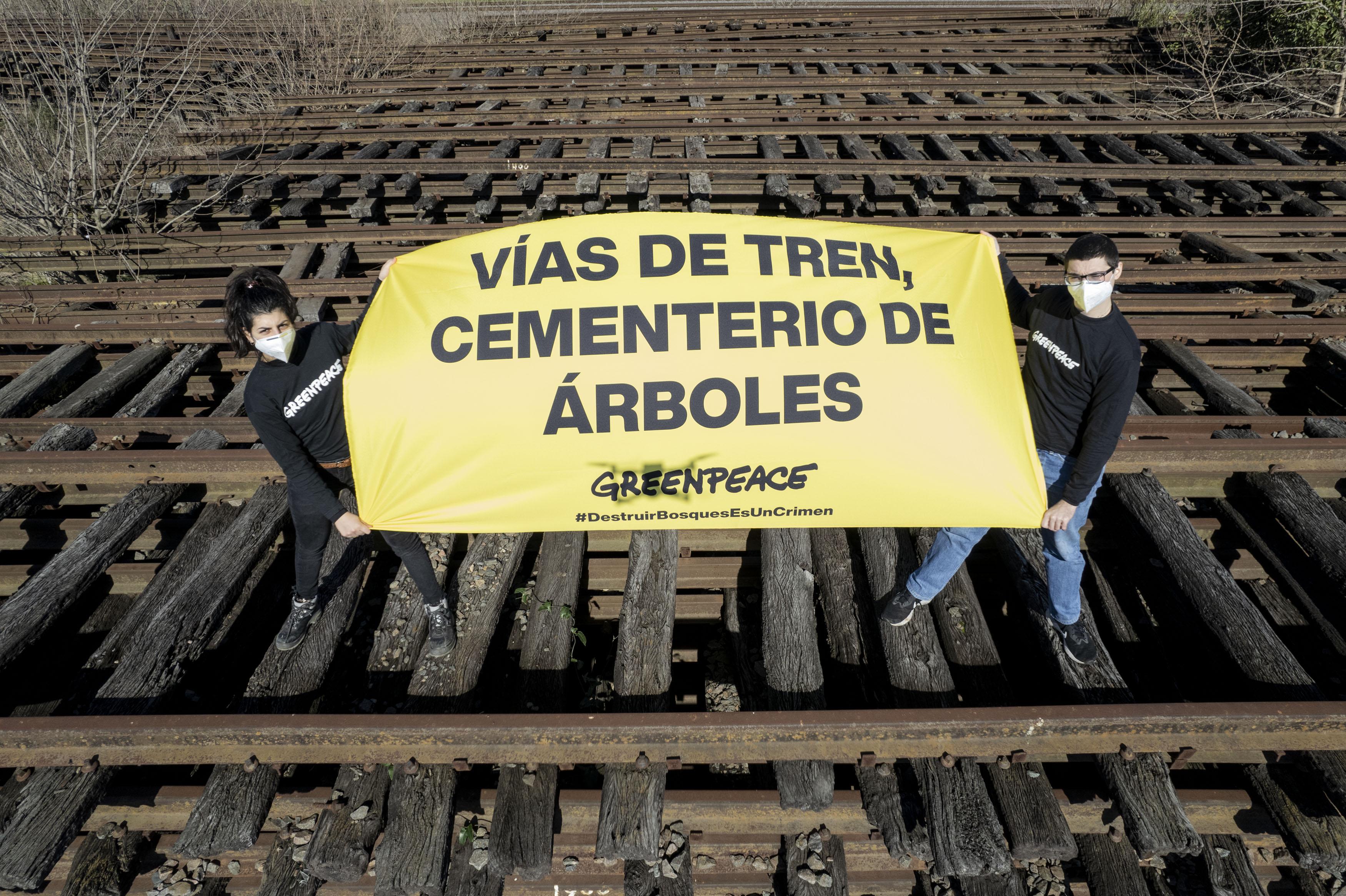 Trenes sin desmonte Greenpeace Argentina