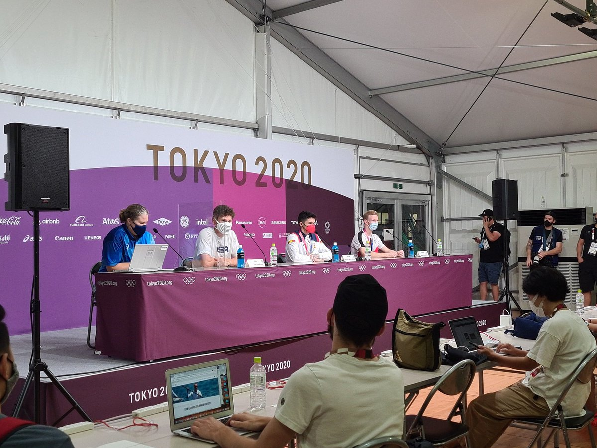 Press conference underway. Alberto Gines Lopez is the youngest athlete from Spain to ever win an Olympic Gold medal.   https://t.co/JLcFJQe7P9