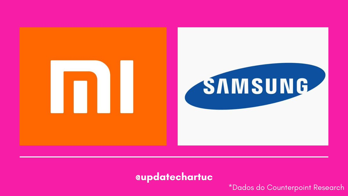 RT @updatechartuc: Xiaomi desbanca a Samsung e se torna LÍDER do mercado global de smartphones. https://t.co/ktE1CEQU8K