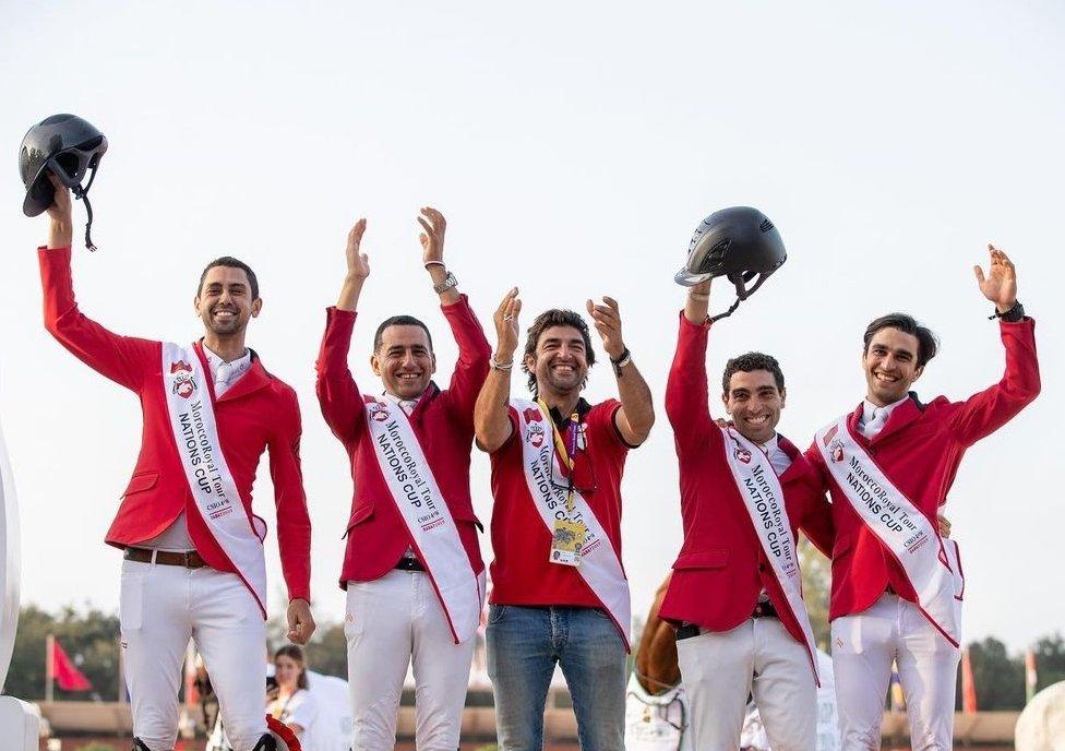 المنتخب المصري للفروسية
