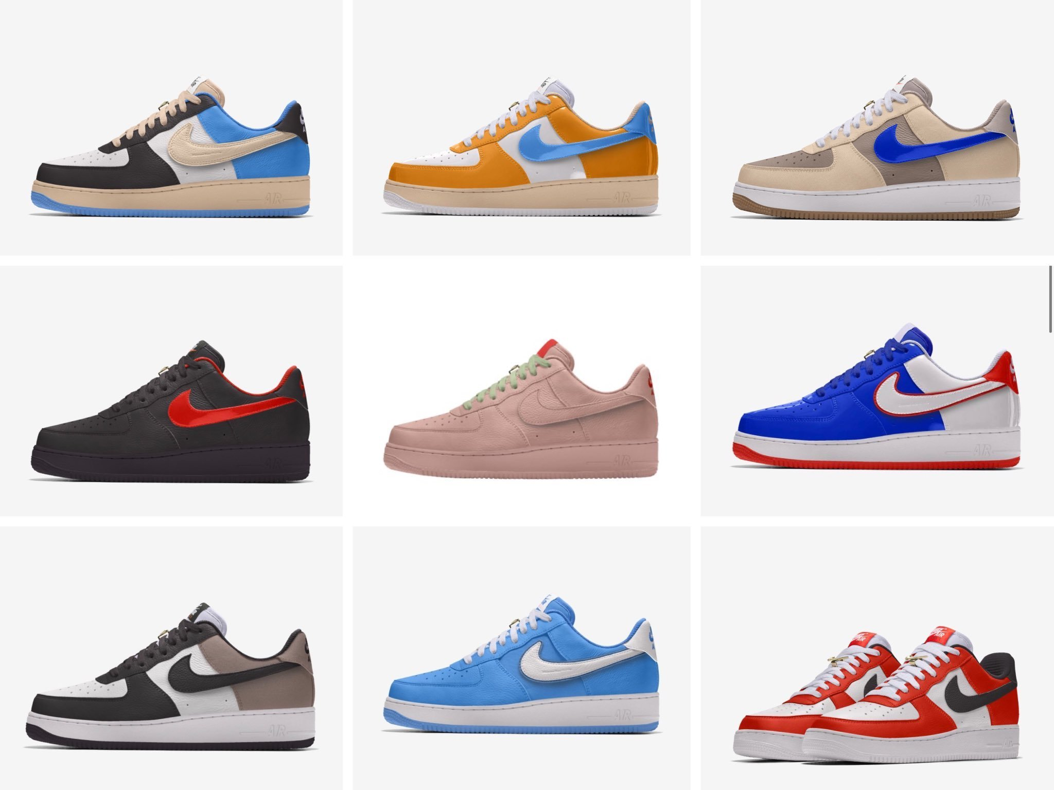 Nike Air Force 1 Unlocked By You 'First Use'