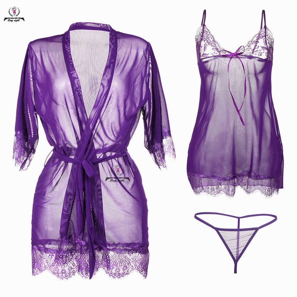 Longnight lingerie sexy  Harga: Rp86.900 Link: shp.ee/qnzkcbn