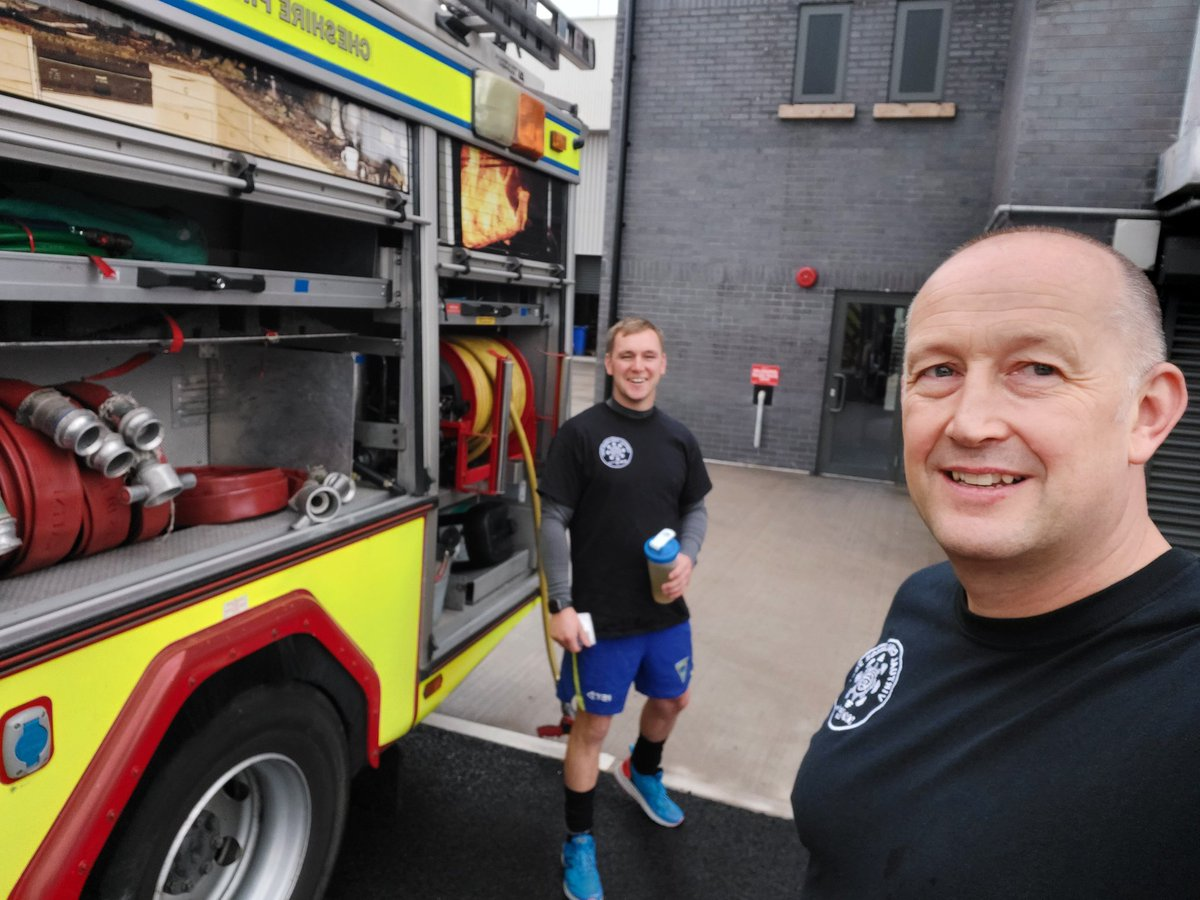 Great work gents, ambassadors for Firefighter Challenges in the UK 🇬🇧