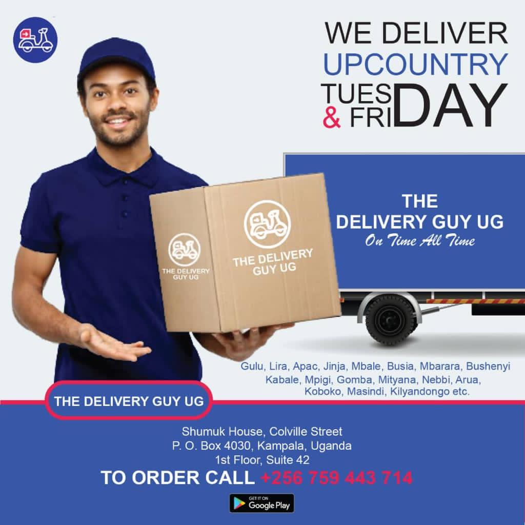 Delivery Person in Kampala -