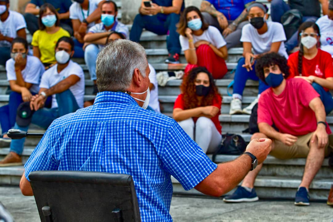Transmitirán en la Mesa Redonda encuentro de Díaz-Canel con los jóvenes