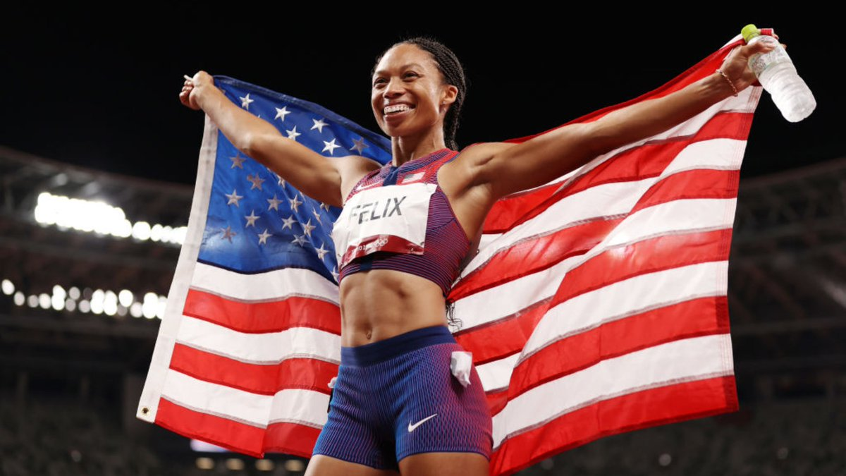 Allyson Felix Becomes Most Decorated Female Track Athlete in Olympic History After Winning 10th Medal