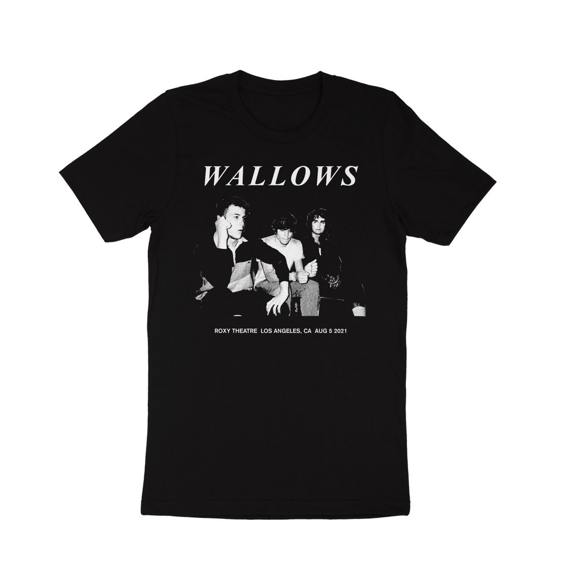 Wallows roxy event shirt shop