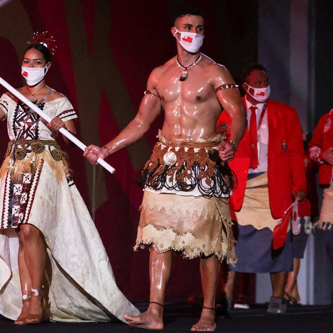 Behold, Tongan Flag Bearer Pita Taufatofua's