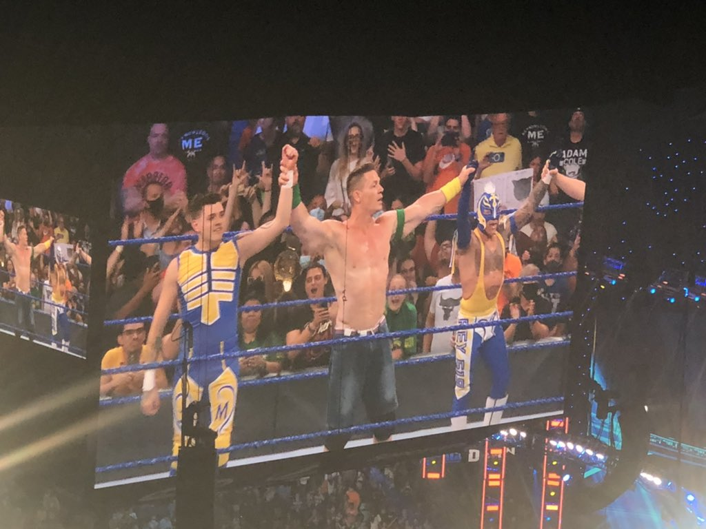 John Cena Wrestled In A Match After WWE Smackdown Went Off The Air 25
