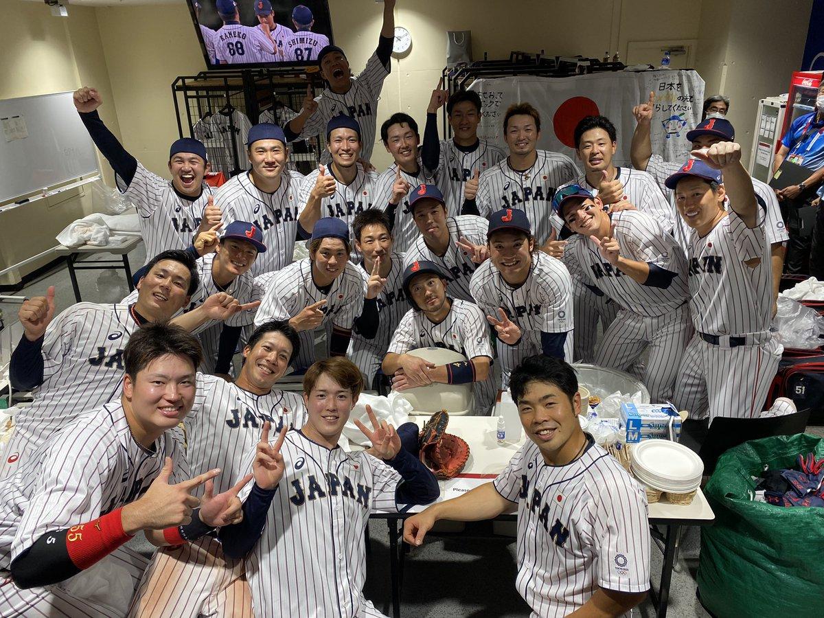東京オリンピック2020 「侍ジャパン」金メダル獲得!おめでとう!
