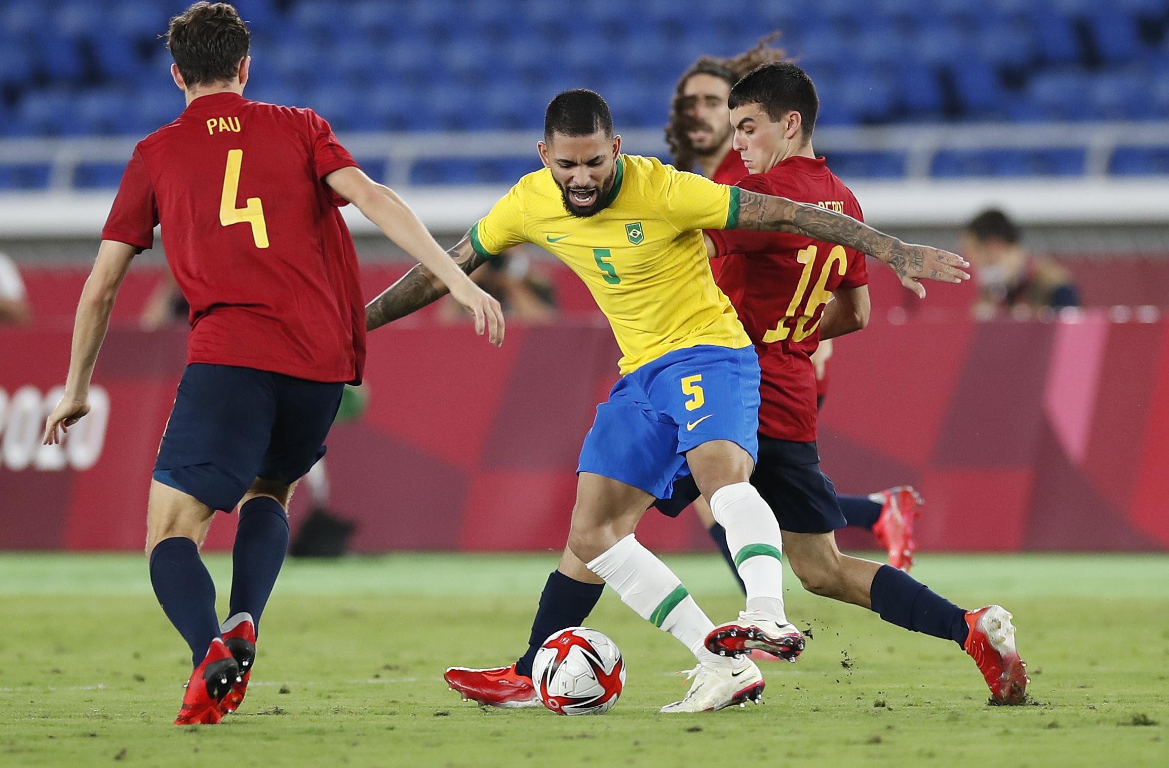 สเปนเหรียญเงินหลังพ่ายบราซิล 120 นาที 2-1