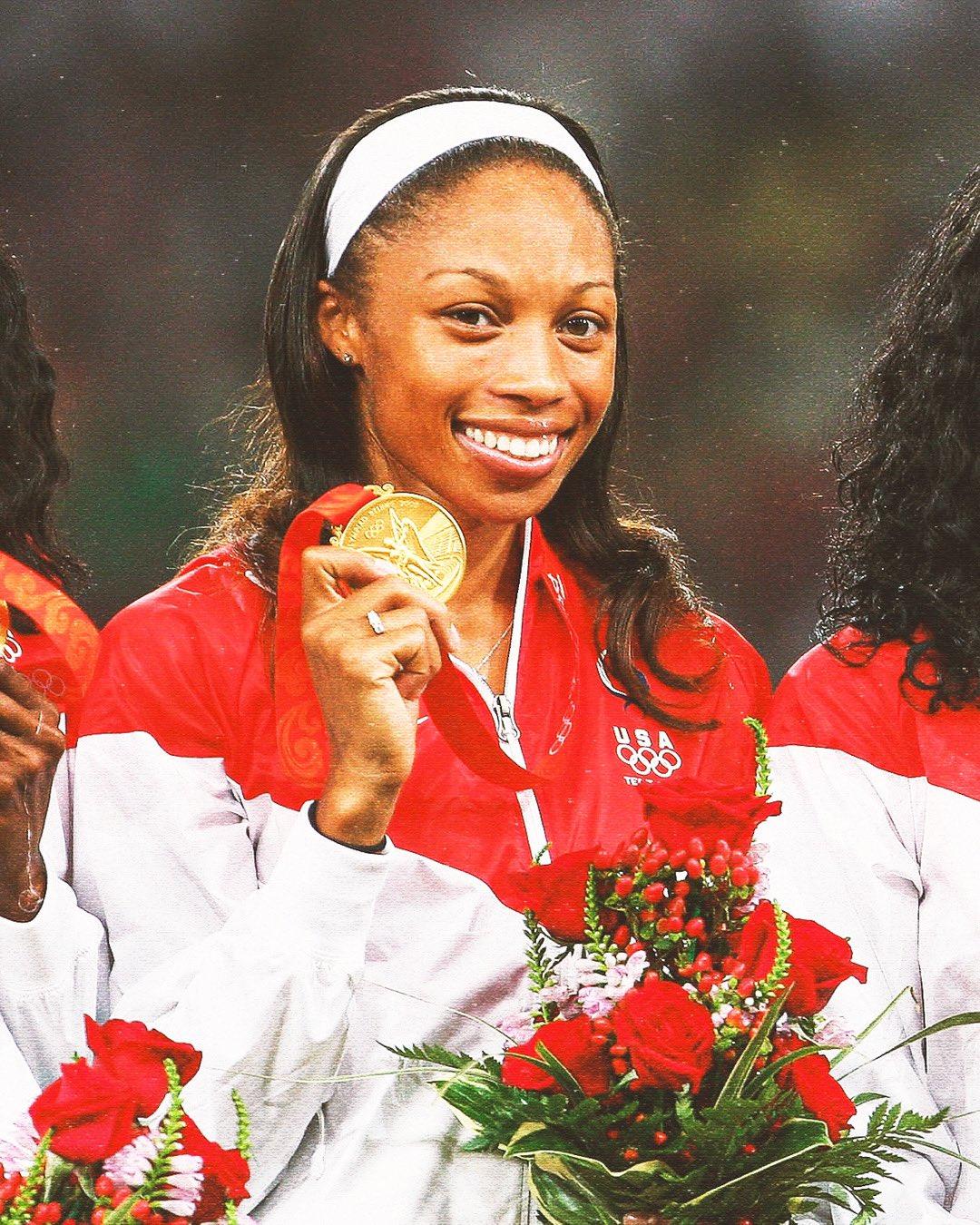 Allyson Felix at the 2016 Rio Olympics
