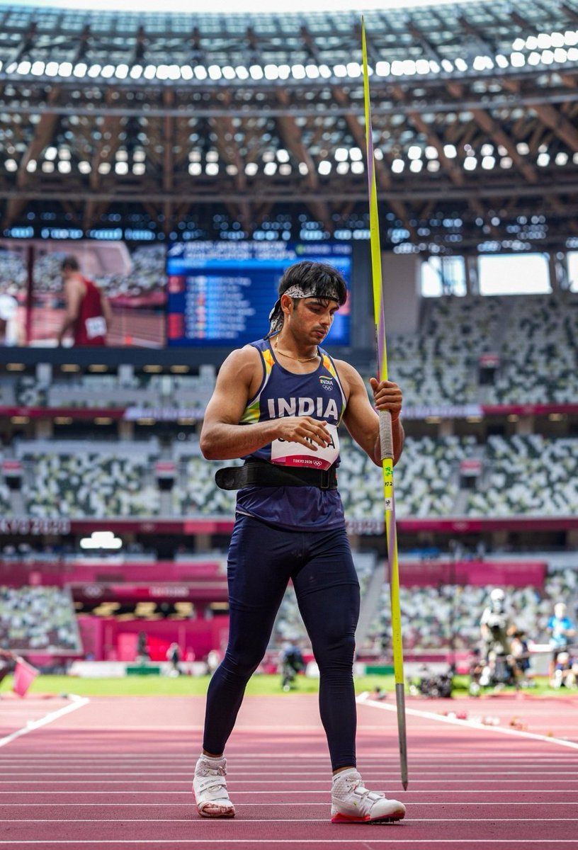 @BeingSalmanKhan: Well done Neeraj, this is amazinggg. Congrats god bless n keep the hard work n dedication going @Neeraj_chopra1 #TeamIndia #Tokyo2020