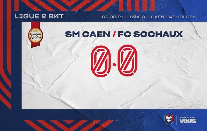 [3e journée Ligue 2 BKT] SM Caen - Sochaux E8MUJHwXoAM4P7g?format=jpg&name=small