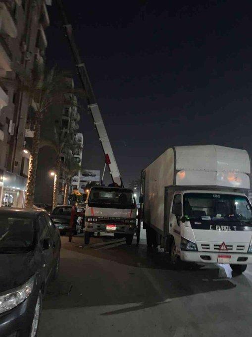 شركة نقل عفش فى الهرم بالونش تمتلك جميع المعدات و العمالة المحترفة