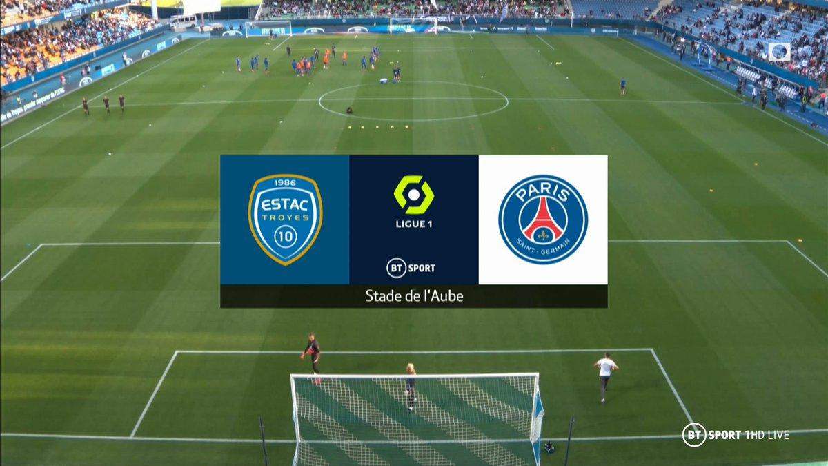 Full match: Troyes vs PSG