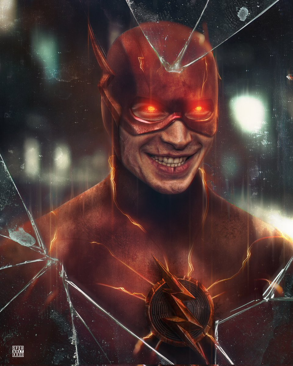Ezra Miller; The Flash Reverso