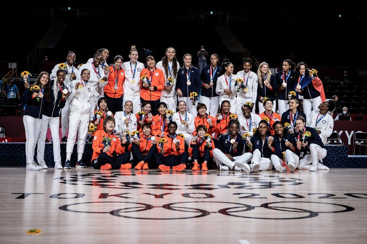 [情報] 美國女籃達成奧運七連霸(55連勝)