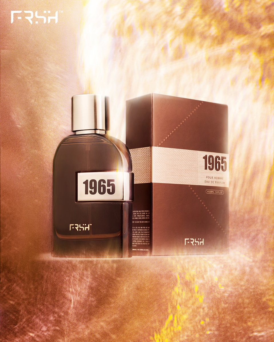 @BeingSalmanKhan: It's not a fragrance. It's an experience.Get your hands on 1965 from @myntraClick here-  #1965 #FRSH #perfume #wearyourgratitude @FrshGrooming