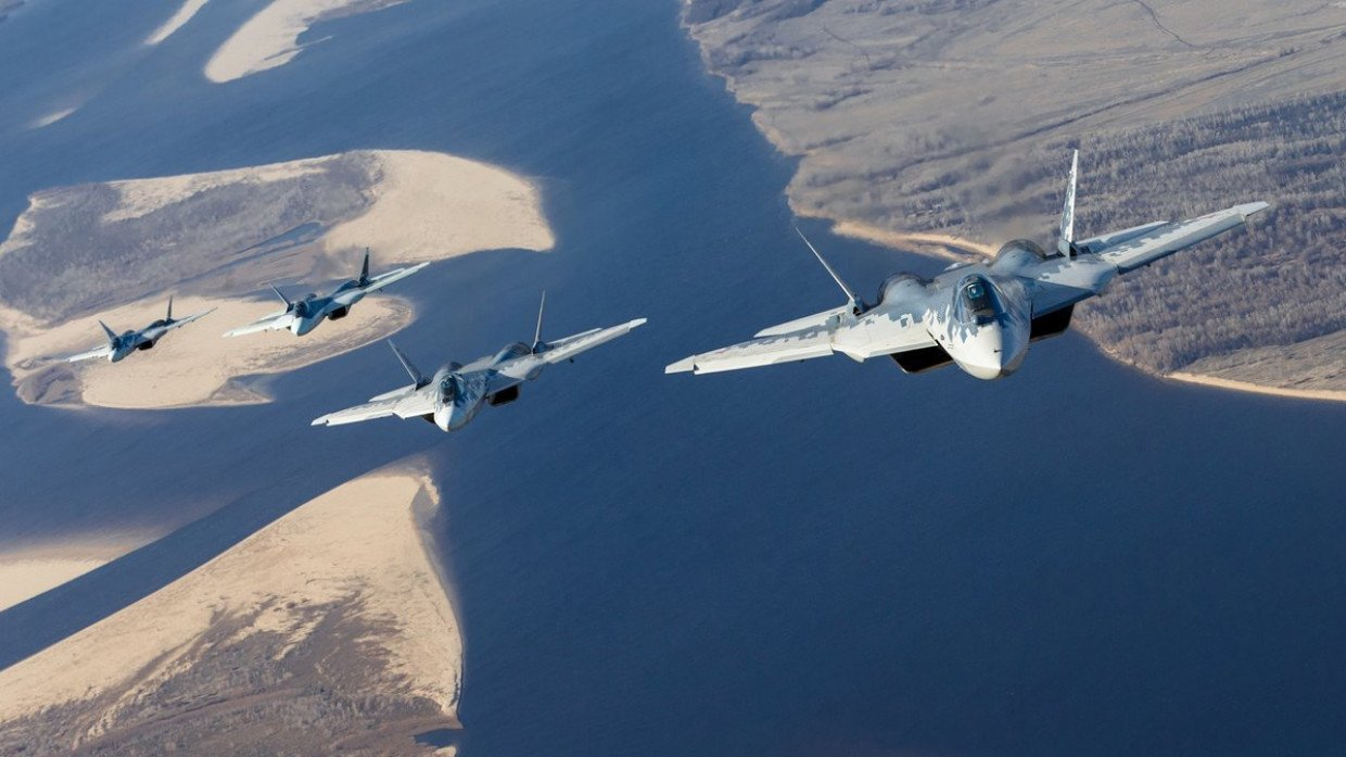Su-57 Stealth Fighter: News #7 - Page 36 E8QTBqCXoAE8fCX?format=jpg&name=large