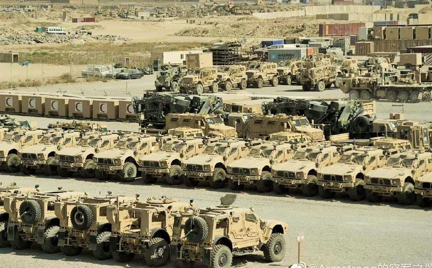 """Su-57 5th Gen Fighter on Twitter: """"So taliban will be the second largest  """"military force"""" in the world to operate #Oshkosh JLTV after #American  forces😜😜… https://t.co/k32zyUy7bR"""""""
