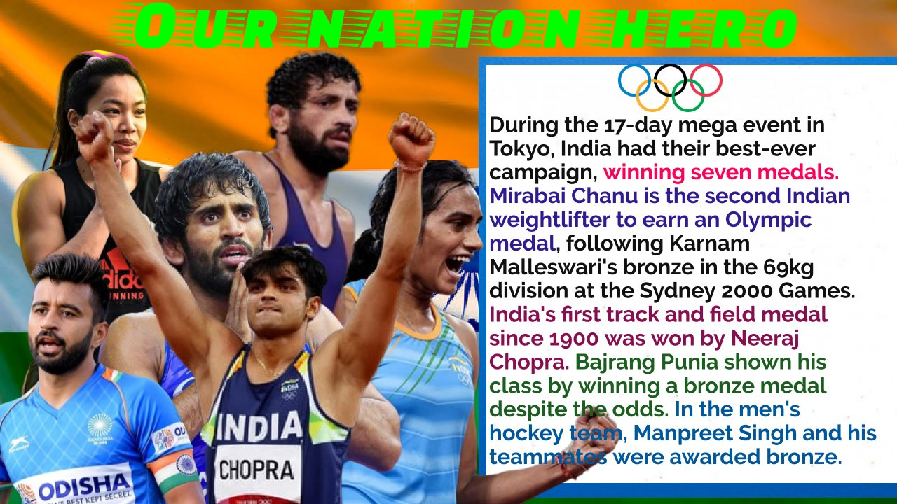 Olympics: India ends with highest ever medal haul of seven medals at the Tokyo games