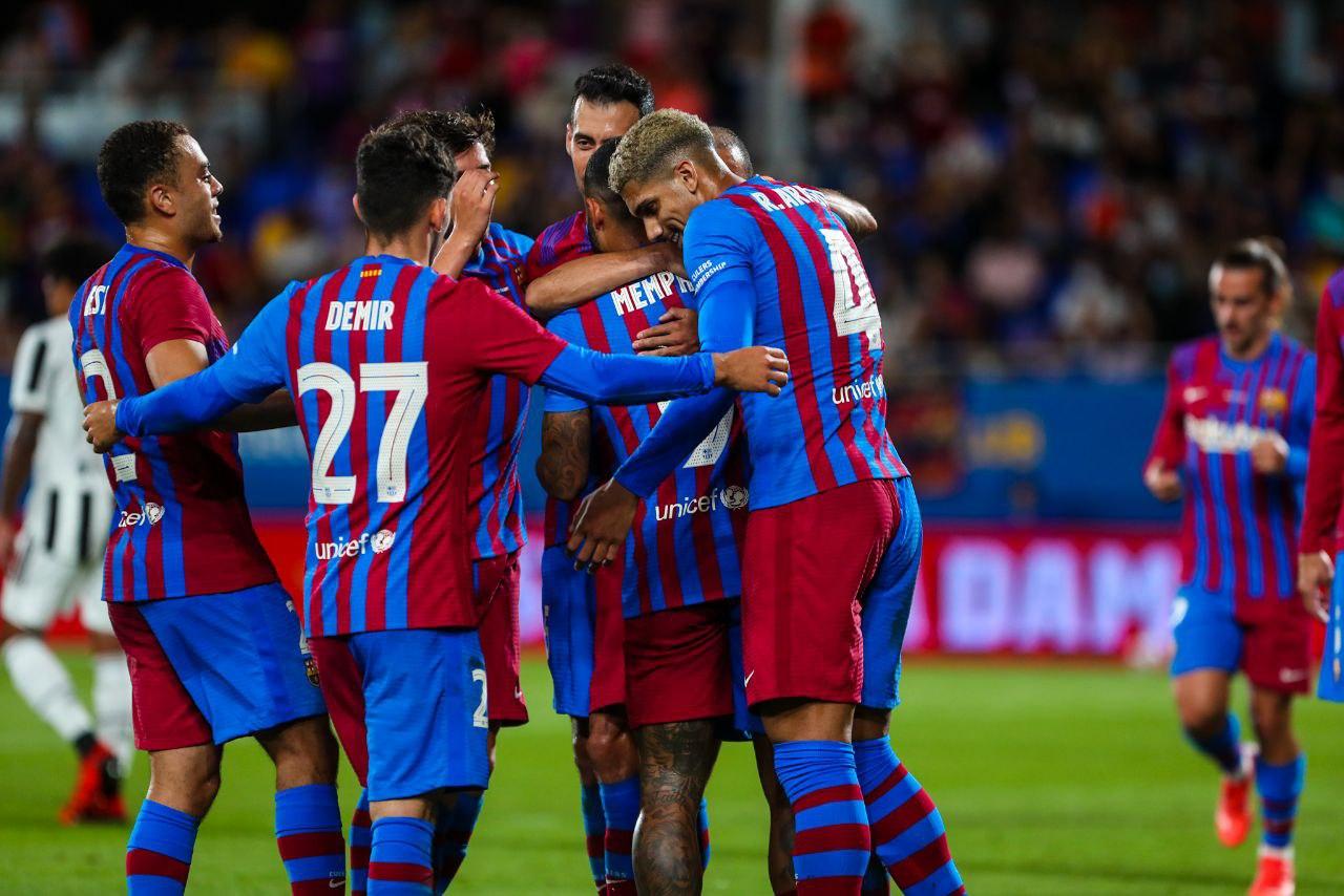 Barcelona vs Juventus 3-0 Trofeo Joan Gamper 2021