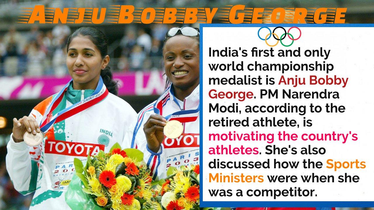 Watch: Athletes' Encouragement, Support Improved Under PM Modi, Explains Anju Bobby George