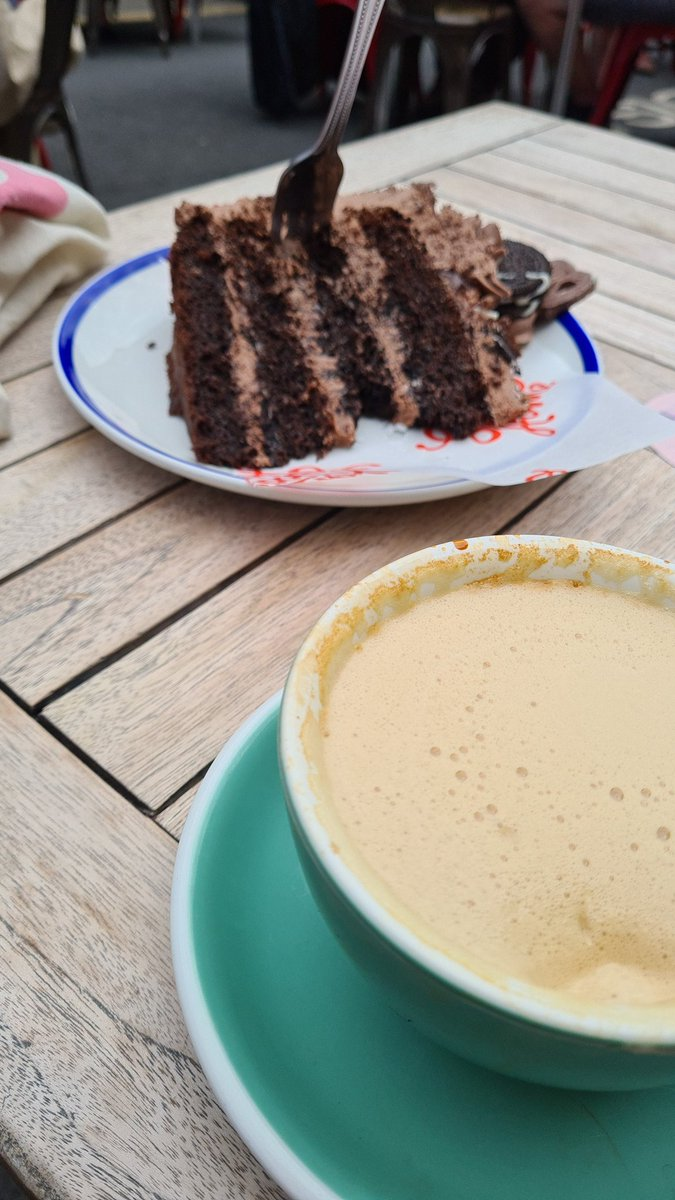 Coffee and cake is a balanced diet? Asking for a friend. #food #cake #coffee #fiveaday