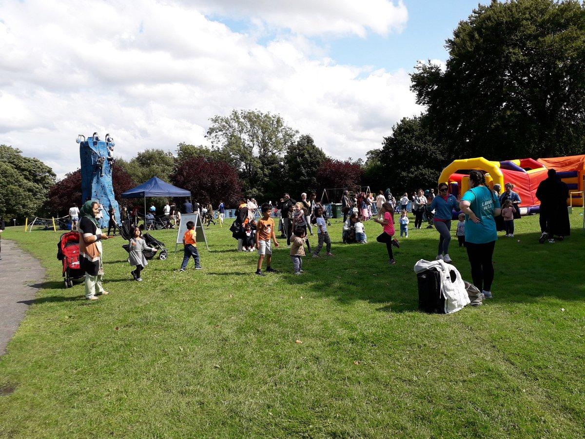 RT @PaulEvo73: Day 15 of @bradfordmdc #HAF2021 #SummerOfFun free activity programme at Brackenhill Park. @MyLivingWell1 #20MinMovement @educationgovuk