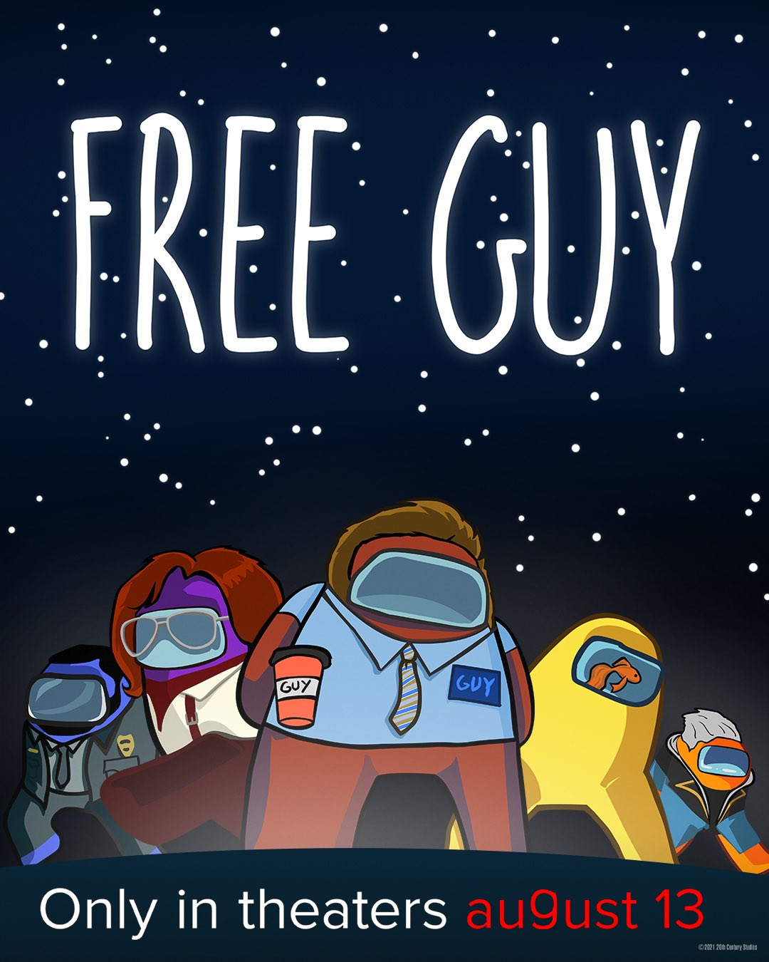 Free Guy - New Posters