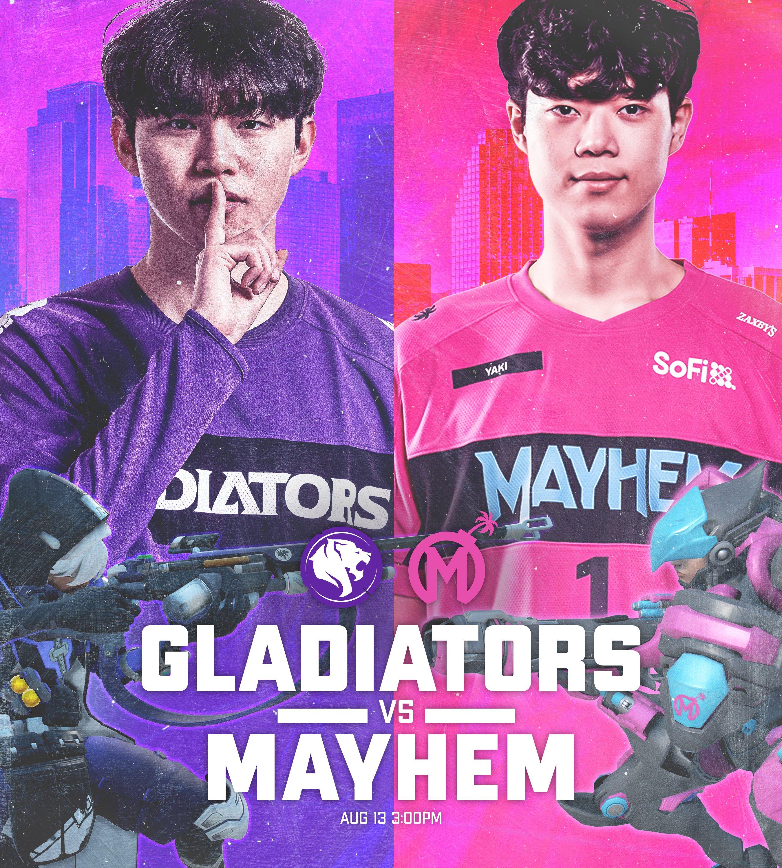 Los Angeles Gladiators Florida Mayhem