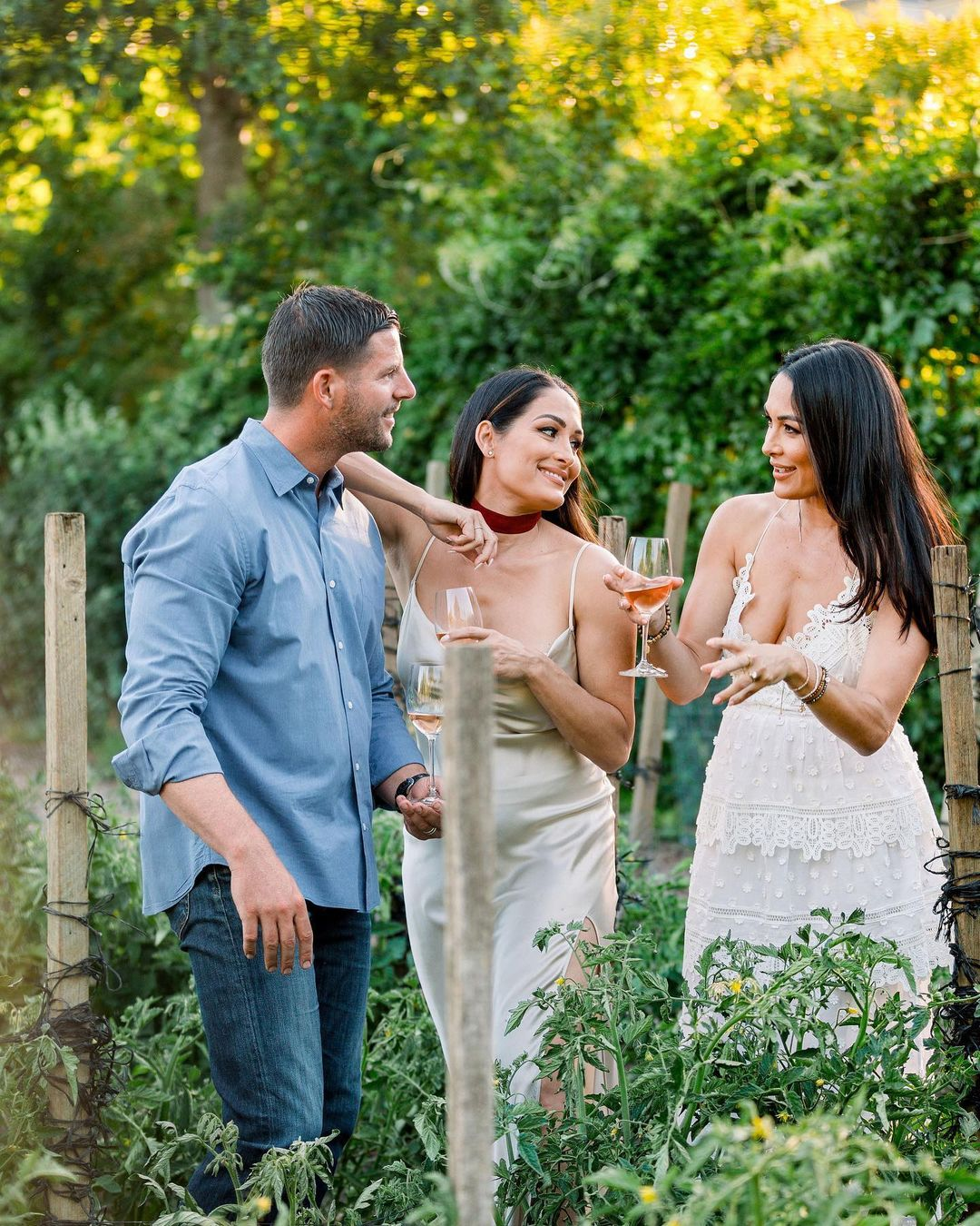 Nikki Bella Poses As White Wine Lover In Stunning Photos Ahead Of WWE Collaboration 44