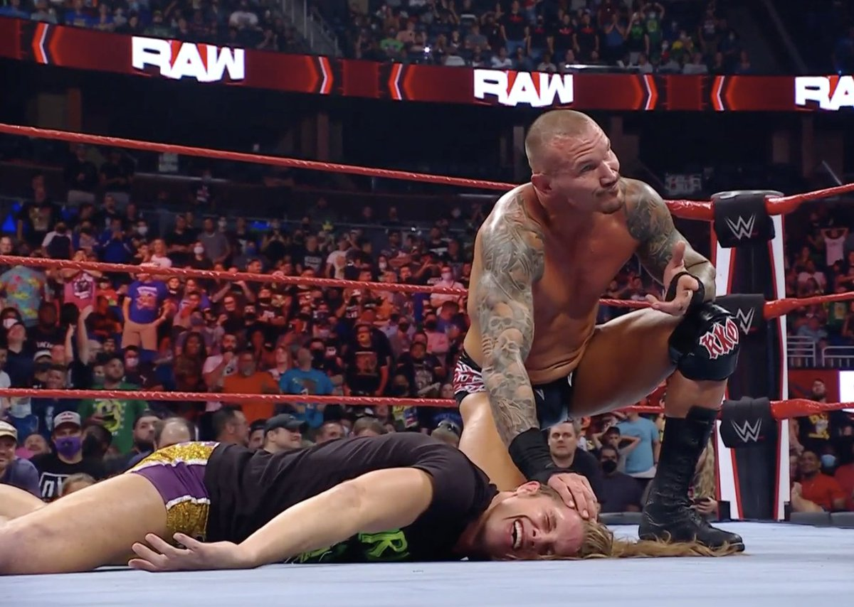 John Cena Brings Randy Orton And Riddle Together After WWE Raw 110